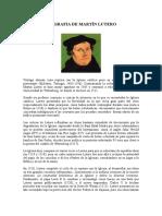 Biografia de Martín Lutero