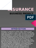 Business Presentation on Insurance