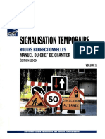 signalisation temporaire