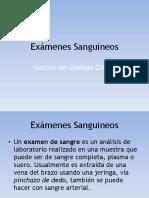 Examenes Sanguineos UdeC