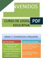 Curso Legislacion Educativa Tec.