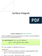13.7 Surface Integrals