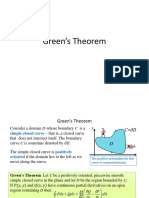 13.4 Green's Theorem