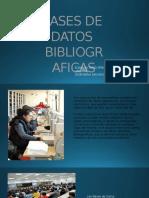Bases de Datos Bibliograficas Diapositivas Yesid Peña
