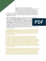 DEFINICIÓN DECRÍTICA y Estudio Comparqado