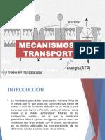 Mecanismos de Transporte de membrana celular