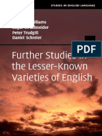 Schneider, Edgar Werner_ Schreier, Daniel_ Trudgill, Peter_ Williams, Jeffrey Payne-Further Studies in the Lesser-known Varieties of English