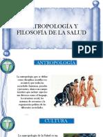 Antropología y Filosofía de La Salud