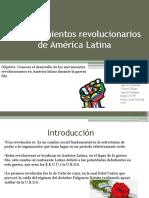 Los Movimientos Revolucionarios de América Latina