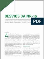 ⭐DESVIOS DA NR-10. Capa NR - 10