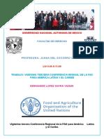 XXIII Conferencia de La FAO