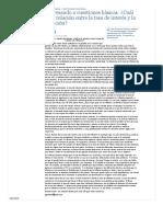 El Universal - Opinion - Regresando a Cuestiones Básicas_ ¿Cuál Es La Relación Entre La Tasa de Interés y La Inflación