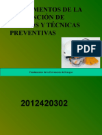 FUNDAMENTOS DE LA PREVENCIÓN DE RIESGOS Y TÉCNICAS PREVENTIVAS PARA DRIVE.ppt
