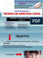 Anestesia Local Diapos Odp 2 Unidad