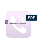 Viber Application Manual