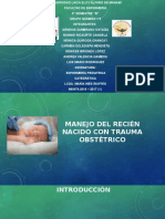 Grupo5 Manejo Del Recién Nacido Con Trauma Obstétrico