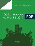 Déficit Habitacional Brasileiro 2011-2012