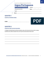 AAP - Língua Portuguesa - 2º Ano Do Ensino Fundamental