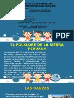 Folklore de La Sierra PERUANA
