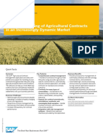Effective Handling of Agricultural Contracts in an Increasingly Dynamic