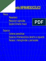 Componentes e. Inframesoclico