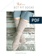 Purl Soho Perfect Fit Socks