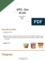 APPCC Doce de Leite
