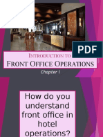 Introduction to Front Office - Chapter1