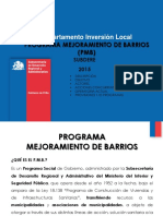 Program a Mejor Amien to Barrio