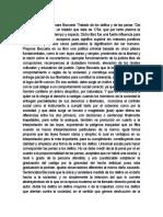 El Libro Escrito Por Cesare Beccaria