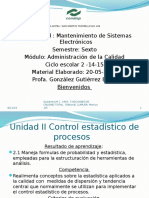 2.1 La Estadistica Al Control Del Proceso