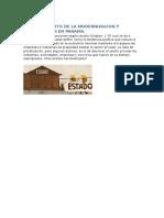 Breve Contexto de La Modernizacion y Privatizacion en Panama