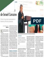 10-09-16 En homenaje reeditarán obra de Israel Cavazos