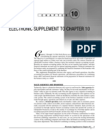 Electronic Supplement to Ch10