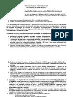 Agenda Estratégica Para La Acción Política Revolucionaria