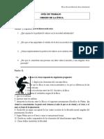 03 - Guía de Trabajo Origen de La Ética Ciclo II 2016