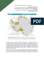 O degelo da Antártica e a subida do nível do mar