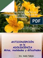 9. Dra. Analia Tablado Mitos en Anticoncepción