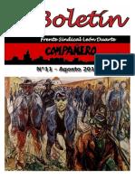 Boletín del Frente Sindical León Duarte
