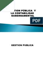 Contabilidad Gubernamental y Gestion Publica
