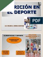 Nutricion en El Deporte Aac 2016