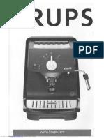 User's manual KRUPS XP-4000