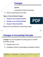 Accounting Changes Ch 22