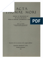 Humanistica Lovaniensia Vol. 7, 1947_ACTA THOMAE MORI_HISTORY OF THE REPORTS OF HIS TRIAL AND DEATH WITH AN UNEDITED CONTEMPORARY NARRATIVE.pdf