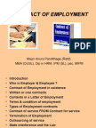 Contract of Employment- Chapter 7 (Old) Anura
