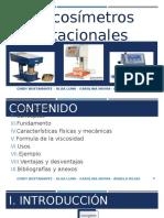 Viscosimetro de Cilindros Coaxiales
