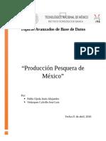Produccion Pesquera Republica Mexicana 2006-2014