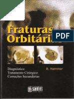 Fraturas Orbitárias - B Hammer