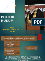 1. Politik Hukum