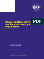 9964 Manual on Regional Accident and Incident Investigation Organization